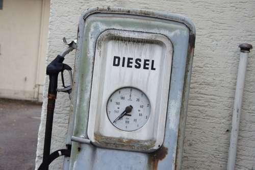 Old Gas Pump Diesel Gas Pump Fuel Pump Old Refuel