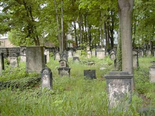 Old Jewish Cemetery Dresden Neustadt