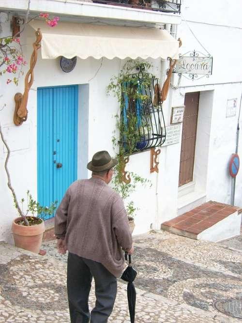 Old Man Mediterranean Human
