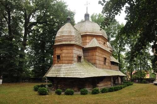 Old Orthodox Church Unesco Poland Architecture
