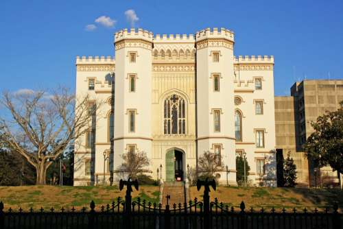 Old State Capitol Castle Baton Rouge Louisiana
