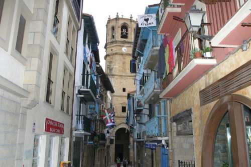 Historic Center Northern Spain Places Of Interest