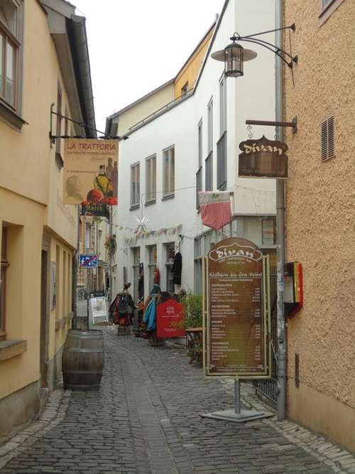 Historic Center Austria Old Town Lane Hall In Tirol