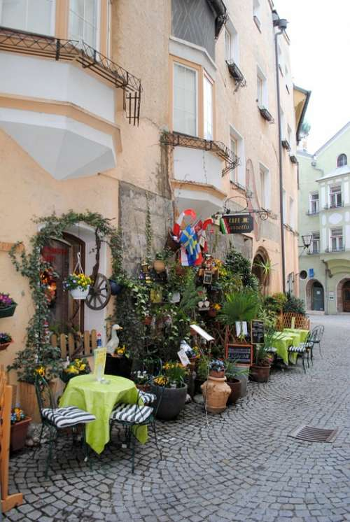 Historic Center Austria Old Town Lane Hall In Tirol