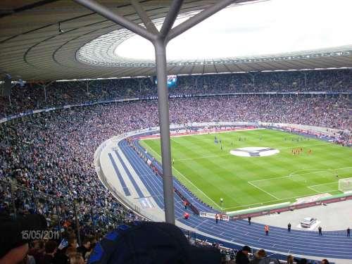 Olympic Stadium Stadium Football Berlin