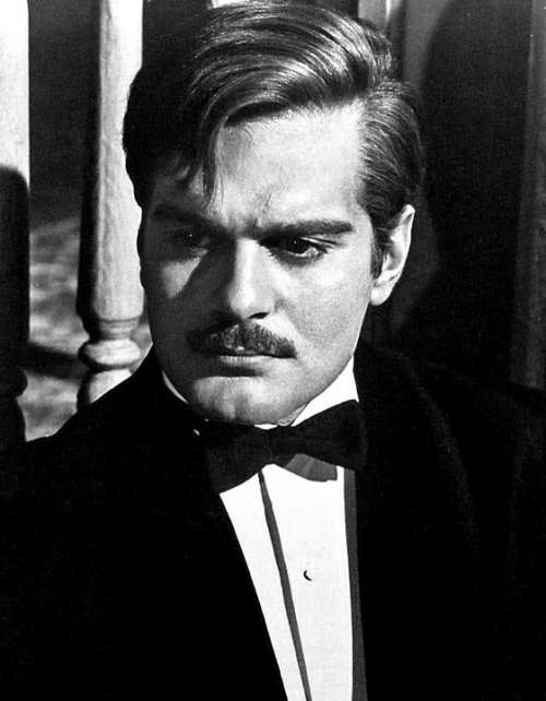 Omar Sharif Actor Egyptian Contract Bridge Player