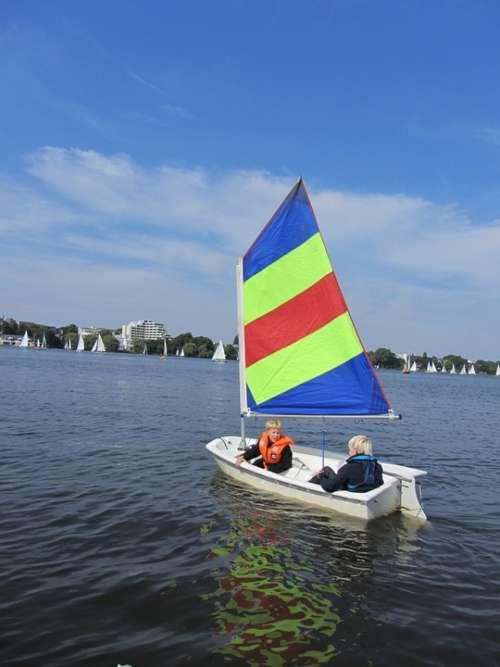 Optimist Sail Alster Children Sailing Building