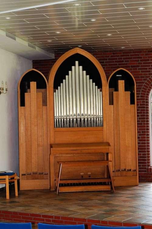 Organ Church Music Keyboard Instrument