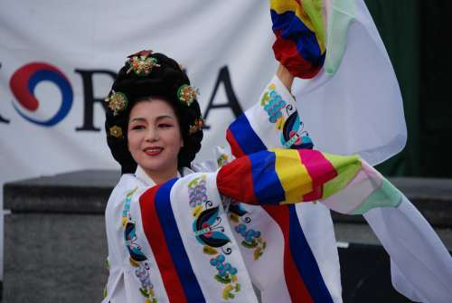 Oriental Woman Tradition Festival Person Dancing