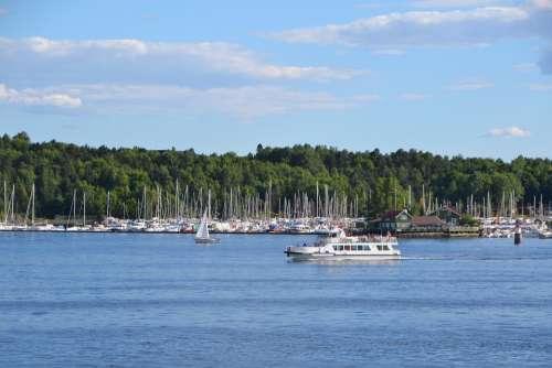 Oslo Norway Port The Oslo Fjord