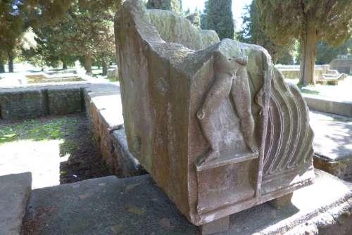 Ostia Antica Italy Archaeological Site Ruins Stone