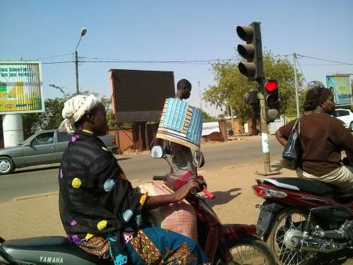 Ouagadougou Africa Woman City