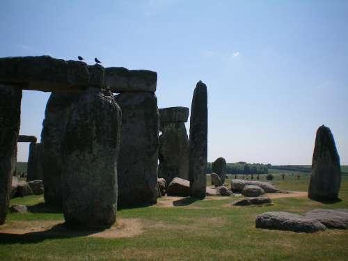 Oxford England Stonehenge Green Cliff