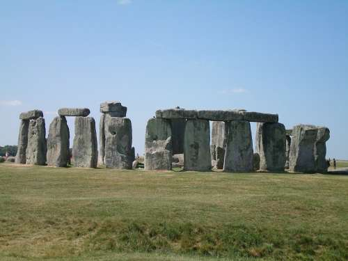Oxford England Stonehenge Green Cliff Nature