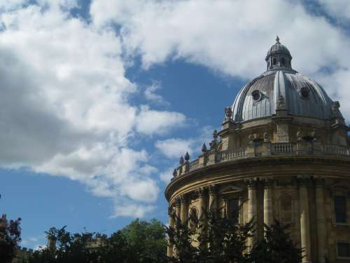 Oxford England Theatre Domed Consistency With The
