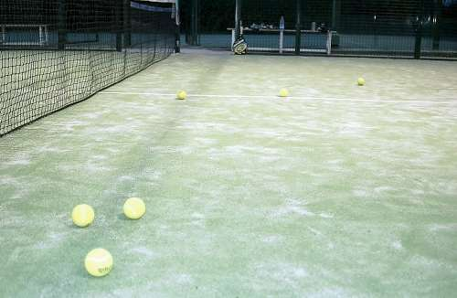 Paddle Tennis Tennis Ball Sports Track Tennis