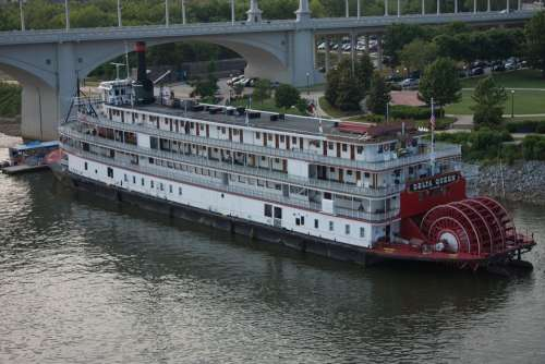 Paddle Steamer Riverboat River Chattanooga