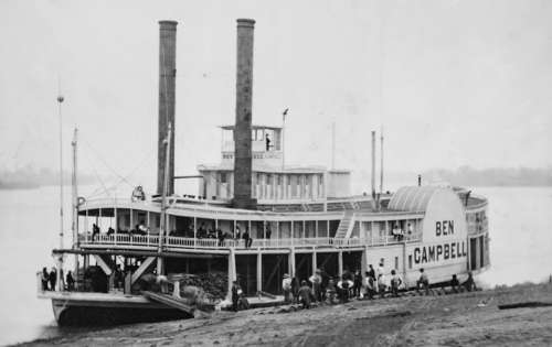Paddle Steamer Ship Steamboat Boat Paddle Steamers
