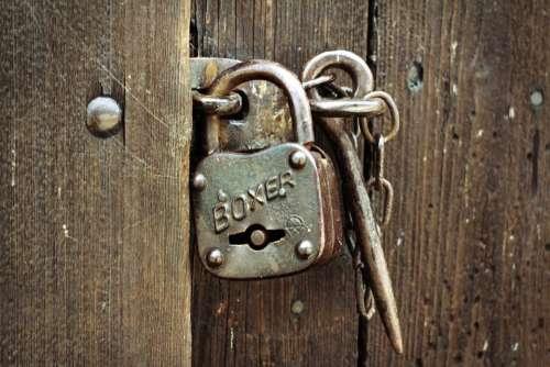 Padlock Castle Security Closed Close Lock Backup