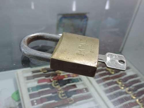 Padlock Keys Set Of Keys Panel