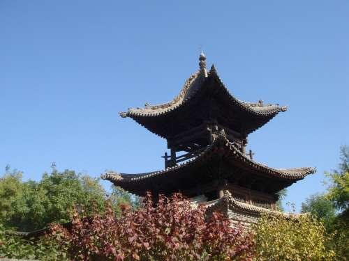 Pagoda Chinese Building History China Traditional