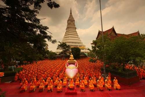 Pagoda Supreme Patriarch Buddhists Patriarch