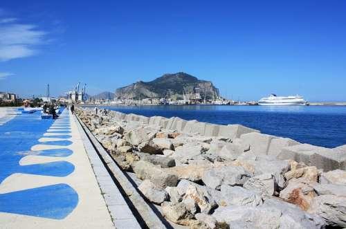 Palermo Waterfront Porto Cala Stone Flooring