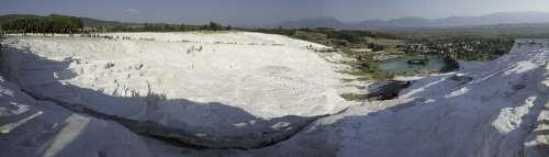 Pamukkale Turkey Limestone