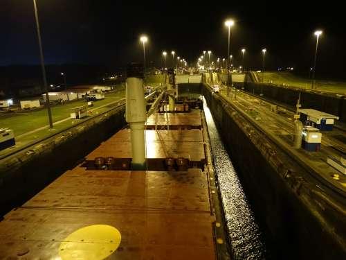 Panama Canal Ship Beautiful Panama Canal