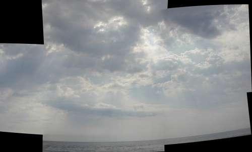 Panorama Clouds Sky
