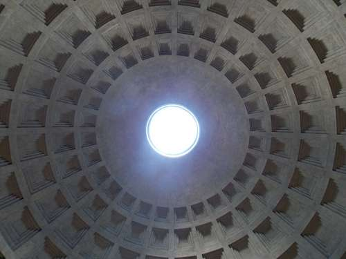Pantheon Italy Rome Architecture Roman Monument