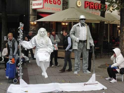 Pantomime Hamburg Street Art Artists Germany