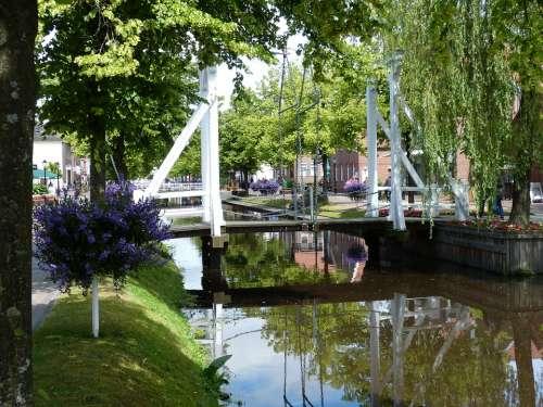 Papenburg Germany Lower Saxony Emsland Channel