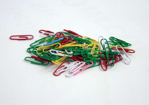 Paperclip Clip Office Office Accessories Stationery