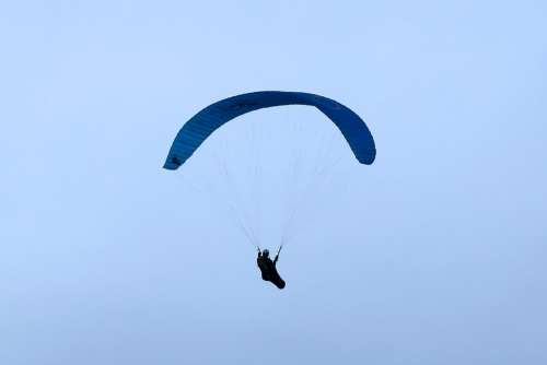 Paragliders Screen Wind Drafts Air Himmel