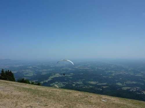 Paragliding Paraglider Air Sports Flying Pilot