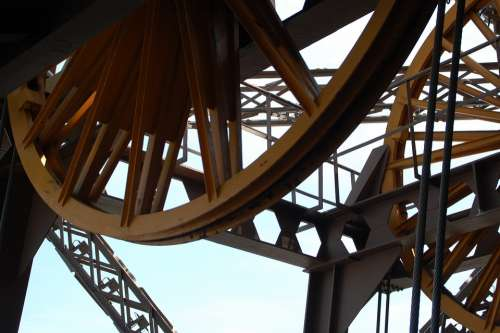 Paris Eiffel Tower Architecture Heritage Mechanism