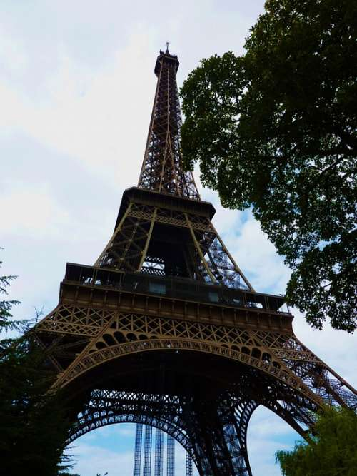 Paris France Eiffel Tower Places Of Interest