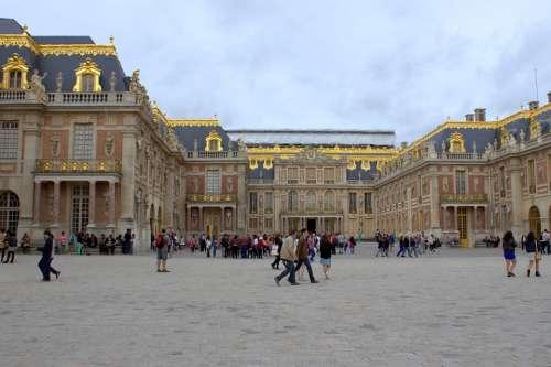 Paris France Versailles Palace Monument