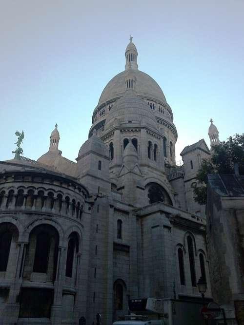 Paris Sacre Coeur France Montmartre Building