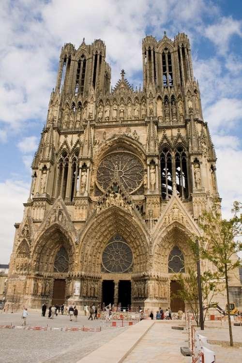 Paris Notredame Cathedral Gothic