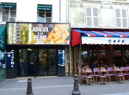 Paris Cafe Movie France French Street Exterior