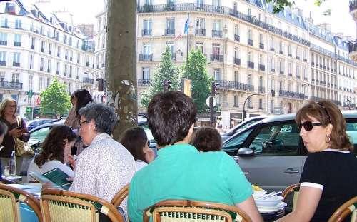 Paris Cafe France City Restaurant Europe