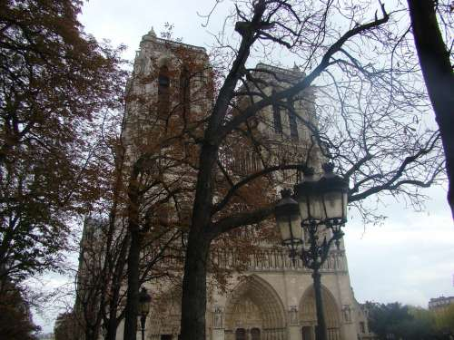 Paris Notre Dame Cathedral France