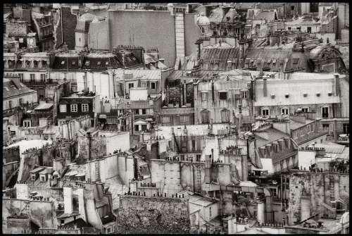 Paris France Sacré Coeur Roofs Roof Housetop