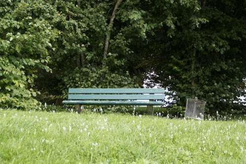 Park Bench Bank Tranquility Base Walk Go For A Walk