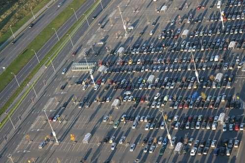 Parking Car Vehicle Shopping