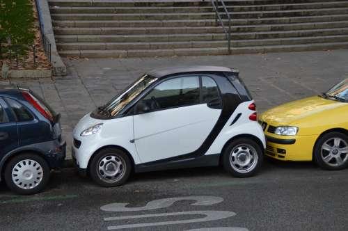 Parking Parked Up Eng Auto Smart Park Asphalt