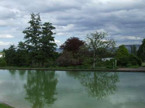 Parklandschaft Mood Lake Killesberg Weather Mood