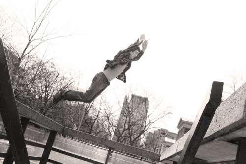 Parkour Jump Toronto Flight